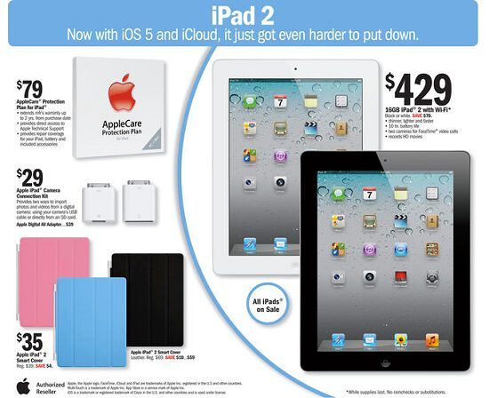 iPad2 discounted, sign iPad3 will rise-up?