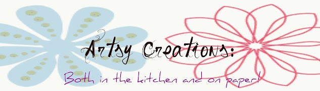 Artsy creations both in the Kitchen and on Paper!