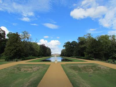 De Grey, English Heritage, Wrest Park, long lake, garden, visit