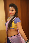 Neetha sizzling photo shoot in half saree-thumbnail-7