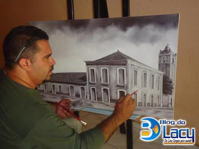 ARTISTA PLÁSTICO ICOENSE ARISTON GLEDSON (BIRO-BIRO)