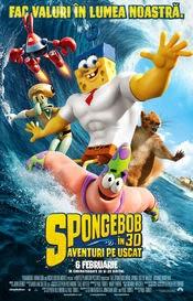 spongebob aventuri pe uscat