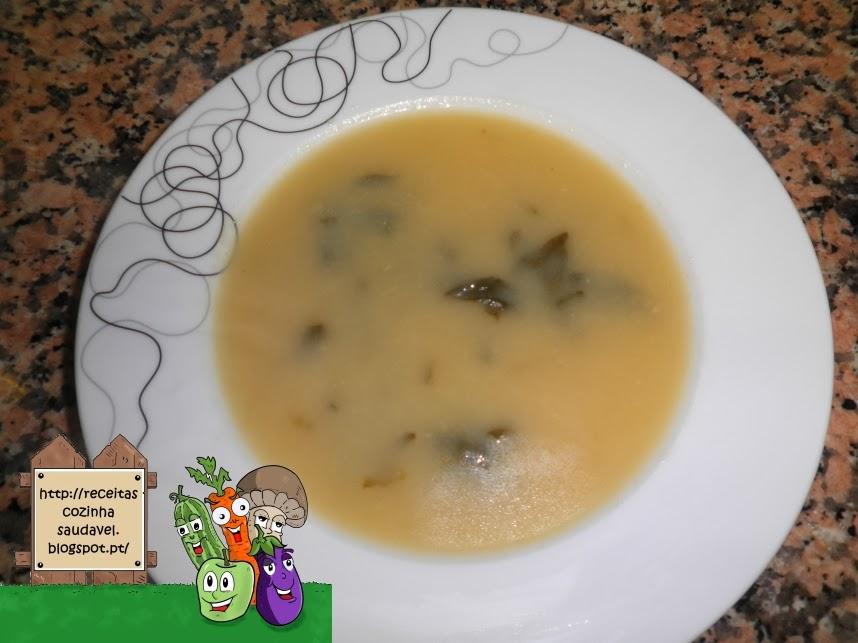 Sopa de Legumes Sem Batata
