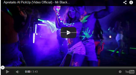 Apretaito Al PickUp (Video Official) - Mr Black El Presidente