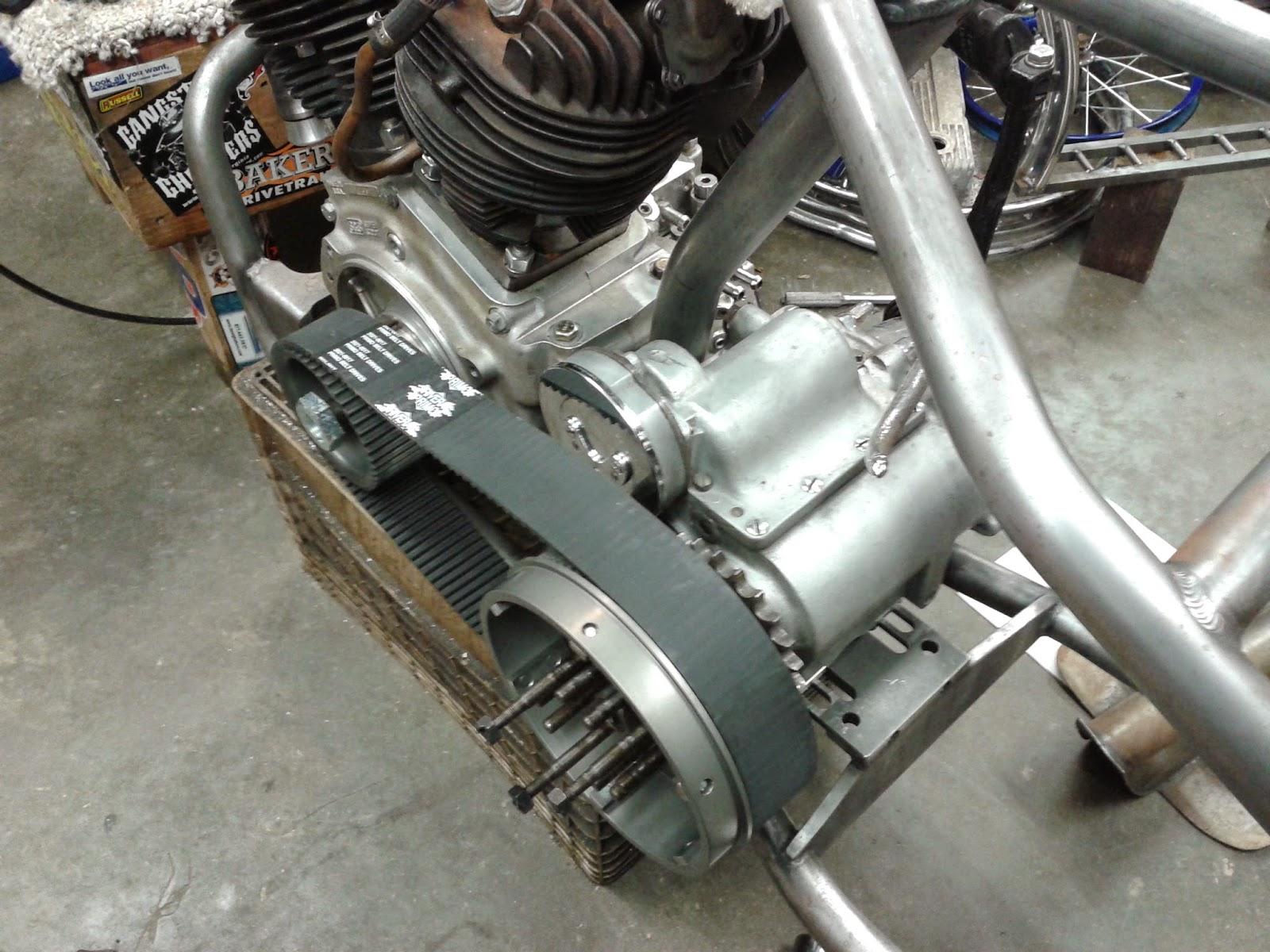 Rebuild Harley Davidson Transmission, 4 speed, ratchet lid, kick start only.