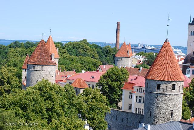 Tallinn - medeltida stan - medieval town
