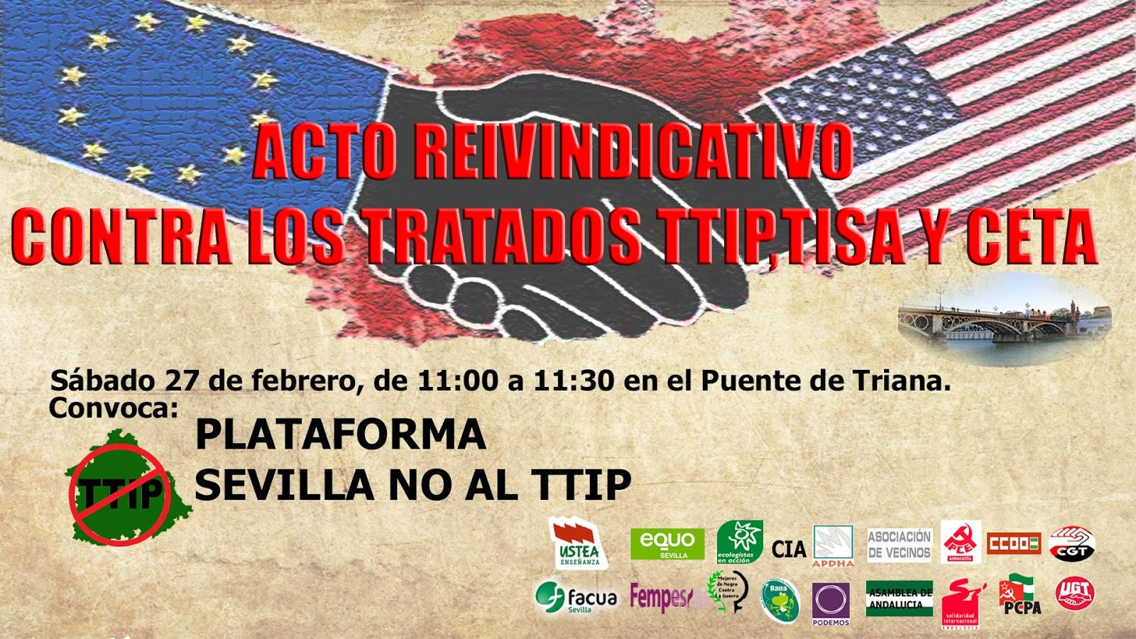 Acto contra TTIP, TISA y CETA