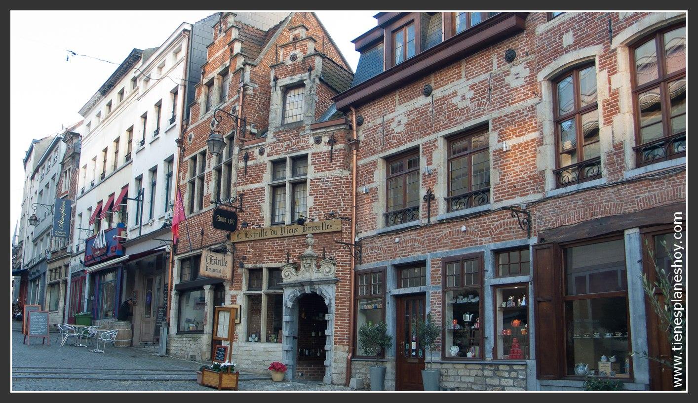 Camino Barrio Du Sablon Bruselas