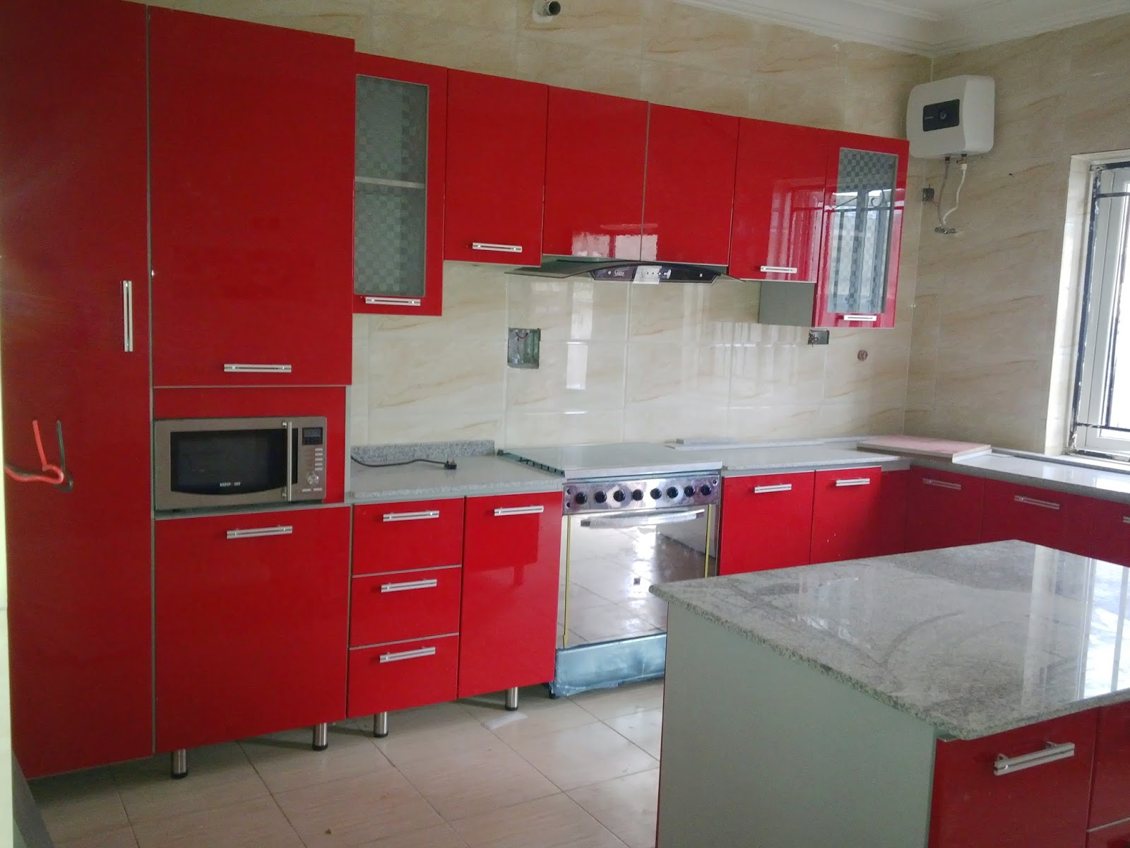Beautifully Furnished World Class Kitchen Cabinet From Candid  Furniture,Abuja