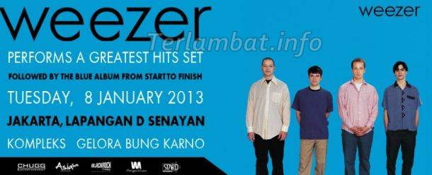 Konser Weezer Di Jakarta 2013