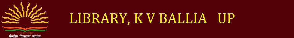 K V BALLIA LIBRARY