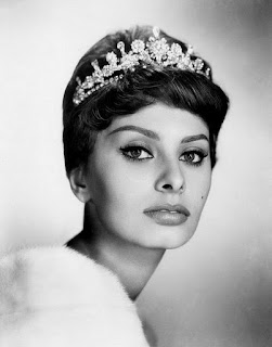 Sofia Loren tiara