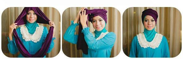 Tutorial Hijab Pashmina Untuk Bekerja