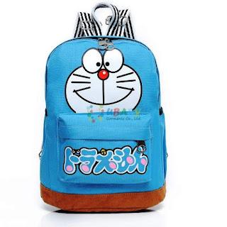 Contoh Tas Sekolah Doraemon