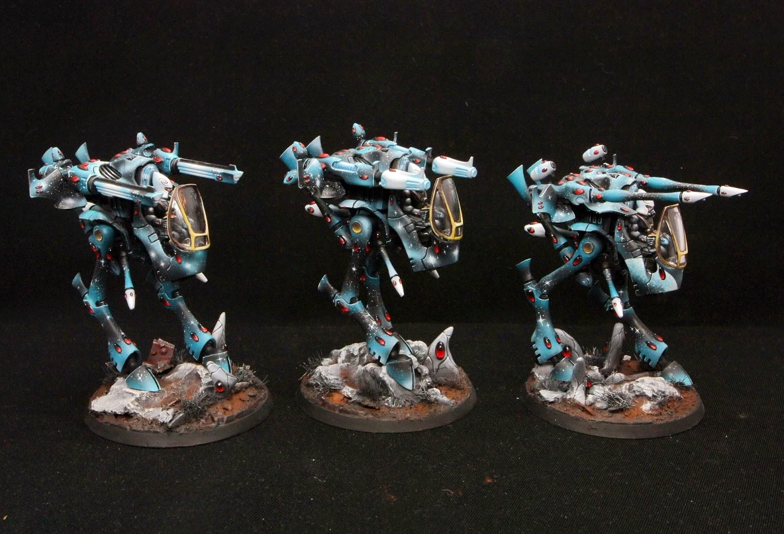 Serpentarium space eldar army walkers next part of space eldar army in turqoise color publicscrutiny Image collections
