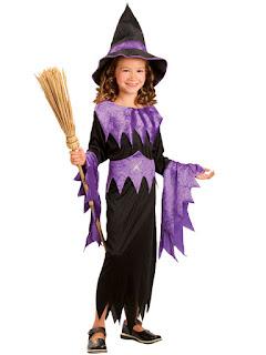 Halloween Kostume Hekse Kjole