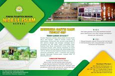 Penerimaan Santri Baru Ponpes Modern Nida'ul Islam Kendal - Jateng Tahun Ajaran 2016/2017