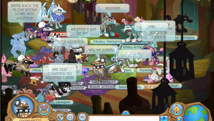Animal Jam Where Is Pillow Room : Animal Jam Secrets and News: RIOT IN THE PILLOW ROOM!