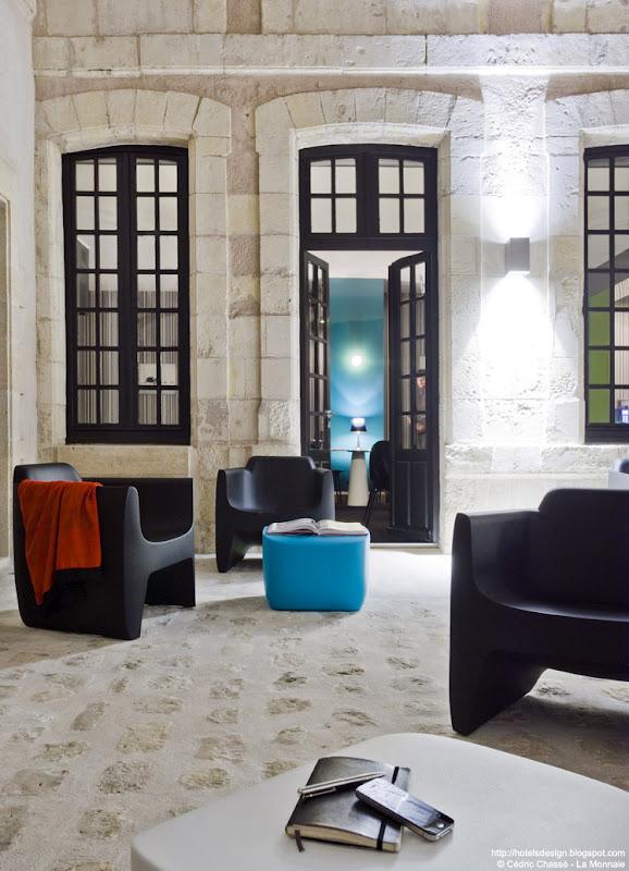La monnaie art spa hotel by philippe lucazeau la for Hotel design spa france