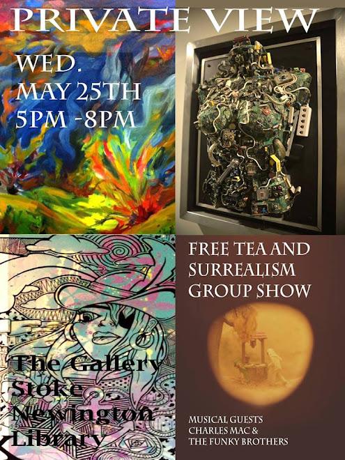 Free Tea and Surrealism Group Show 2016