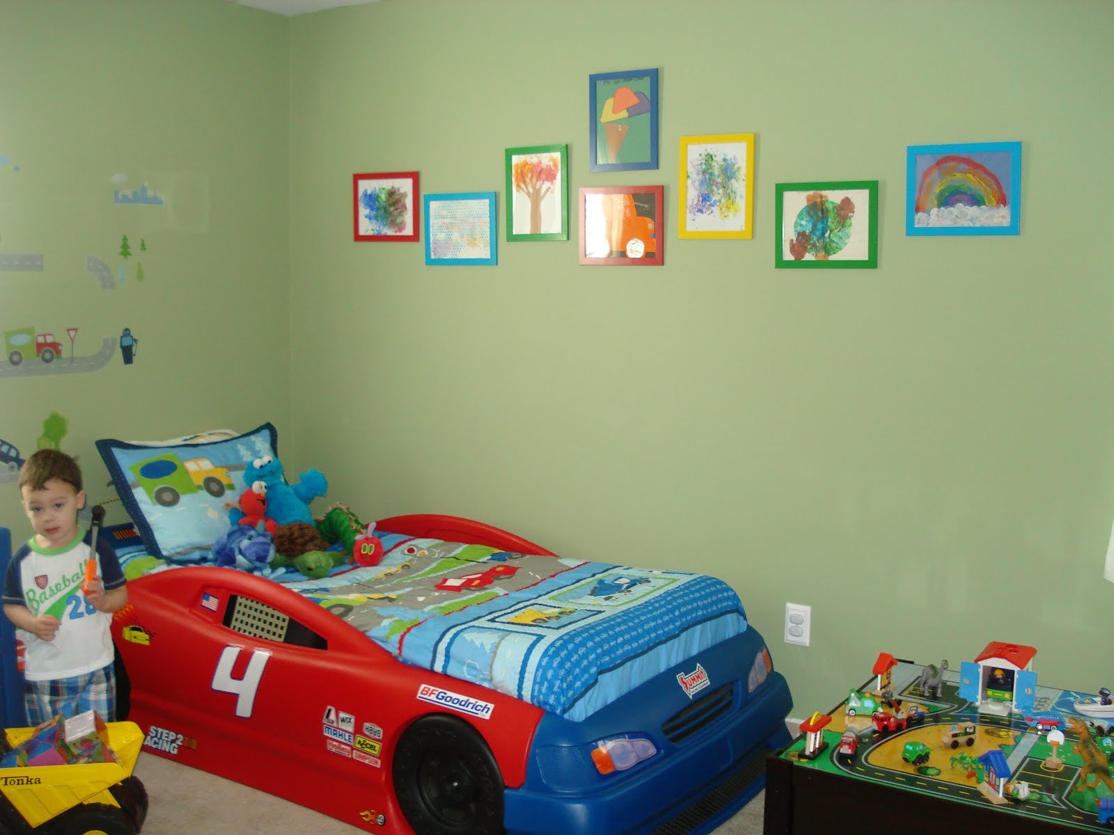 The zatelli zoo the big boy room reveal for Bedroom ideas 8 year old boy