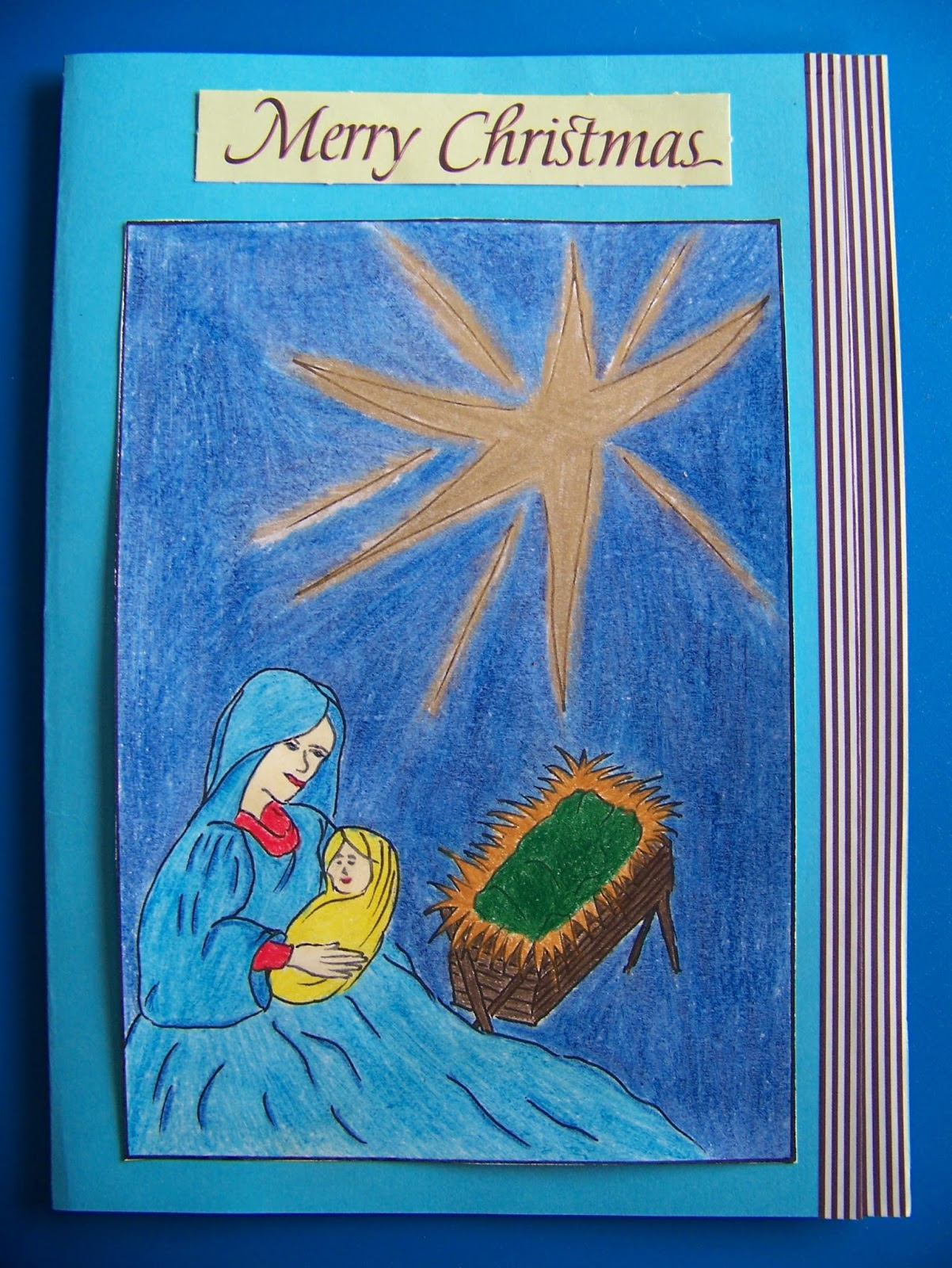 A Pretty Talent Blog: Making Christmas Cards from your Adult ...