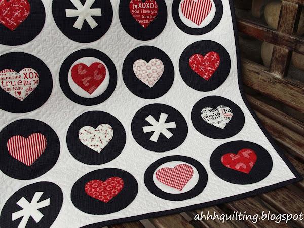 Valentine's Mini Circle Quilt