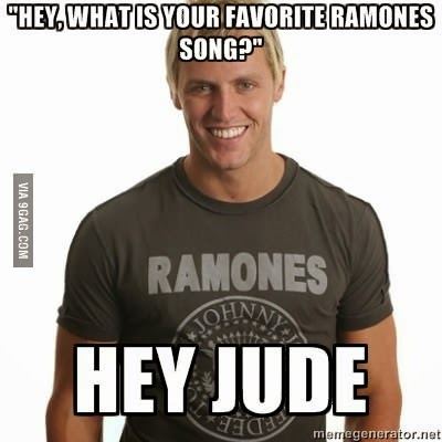 Ramones meme t shirt logo