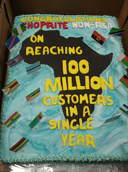 Shoprite Africa Celebration cake