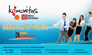 INHOUSE & PUBLIC TRAINING MI. KOMUNITAS