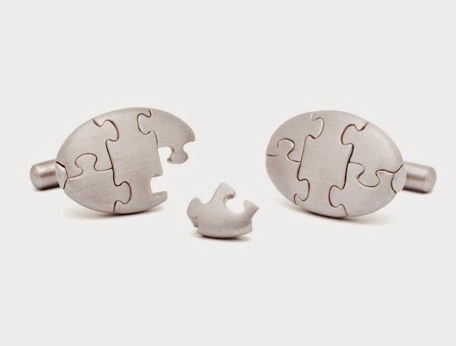 """Puzzle Cufflinks"""