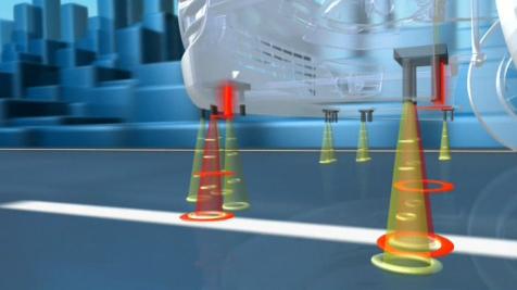 Sensores infrarrojos en el sistema de alerta de cambio involuntario de carril LDW