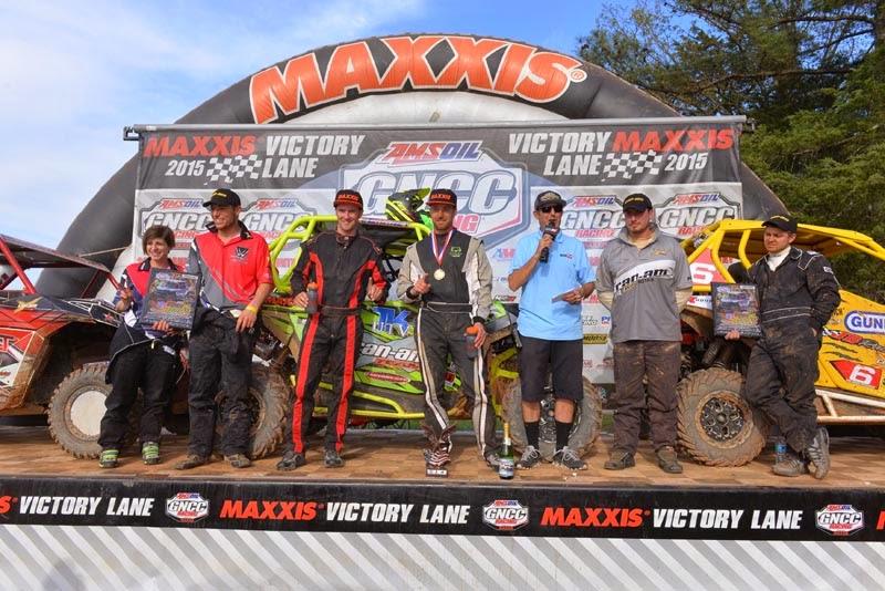 GNCC UTV XC1 Pro class podium