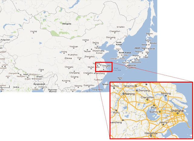 Suzhou China  city images : suzhou is located near the eastern coast of china in
