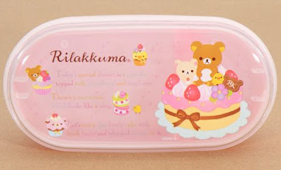 Modes4U, Kawaii, Bento Set, Rilakkuma, Chopsticks, Lunch Box