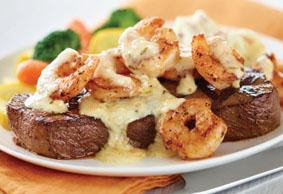Shrimp and Steak