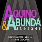 Aquino and Abunda Tonight April 24, 2014
