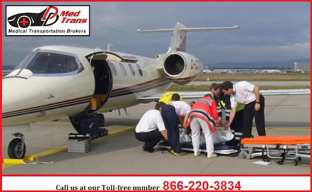 Air Ambulance transportation services provider in Arizona