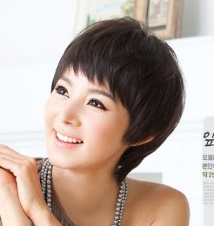 Model rambut pendek wanita korea