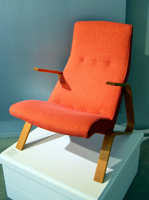 Eero Saarinen at MODA | Grasshopper Chair