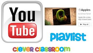 Apples play list via YouTube