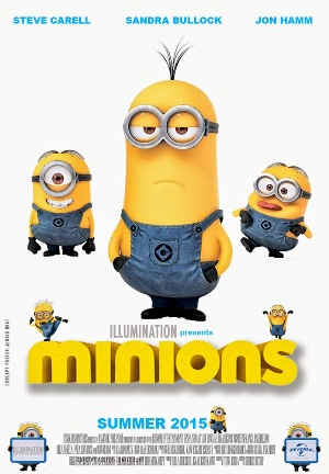 Minions 3 2015 poster