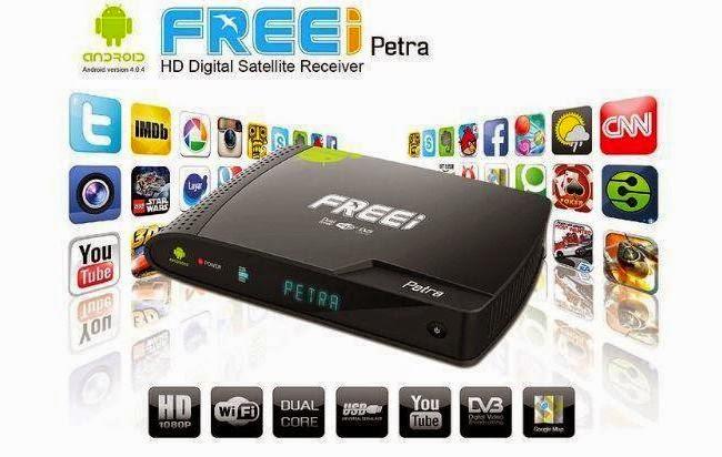 ATUALIZAÇÃO FREEI PETRA HD IPTV - V 1.80 - 01/03/2015