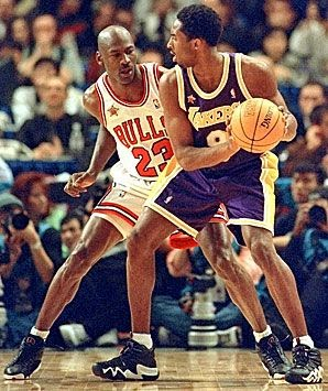 """Classic Kobe! Playing against Jordan... Whoa"""