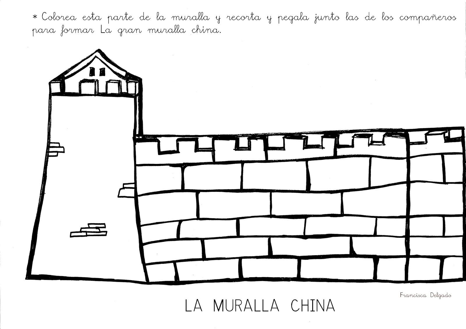Qué puedo hacer hoy?: La gran muralla china