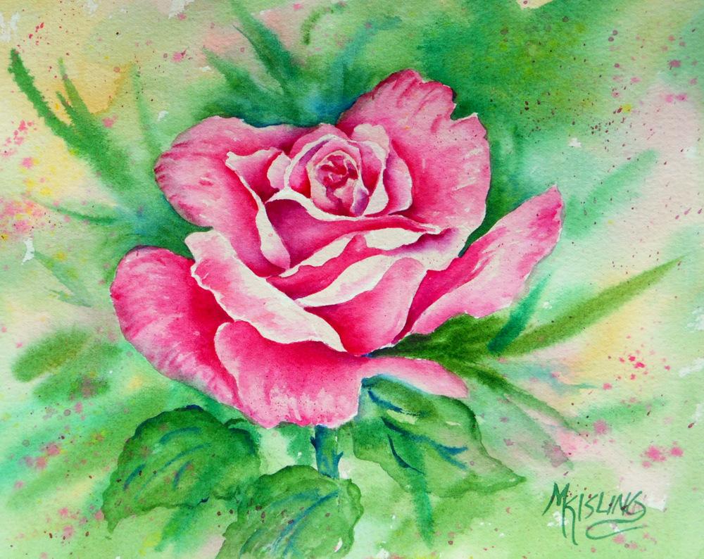 Martha Kisling Art With Heart The Power Of A Single Flower