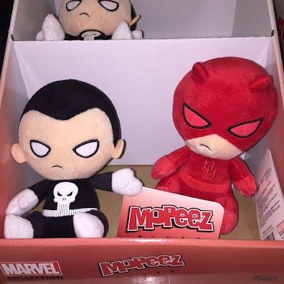 Target Exclusive Daredevil & The Punisher Mopeez Marvel Plush Figures by Funko
