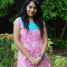 Vijay Tv Anchor Ramya in Pink Churidar  Photo Set