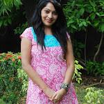 Vijay Tv Anchor Ramya in Pink Churidar  Photo Set