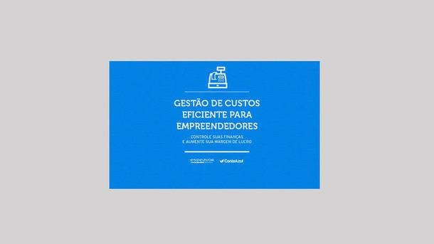 E-book para lidar com as finanças